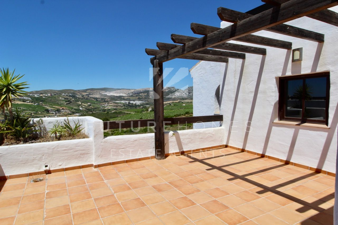 Superb apartment with sea views and huge terrace for sale in Doña Julia
