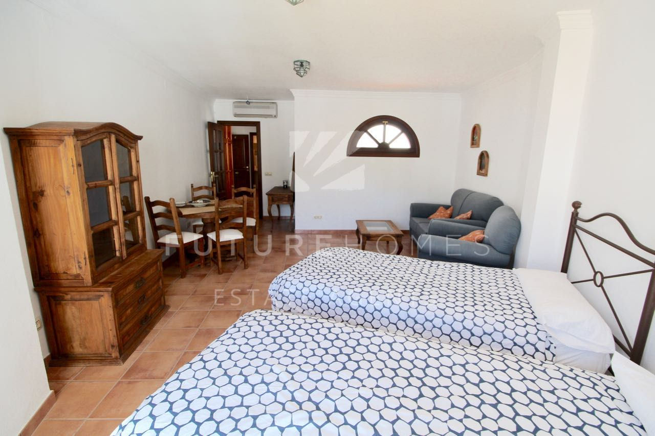 Brand new studio apartment with beautiful views in the heart of Casares village