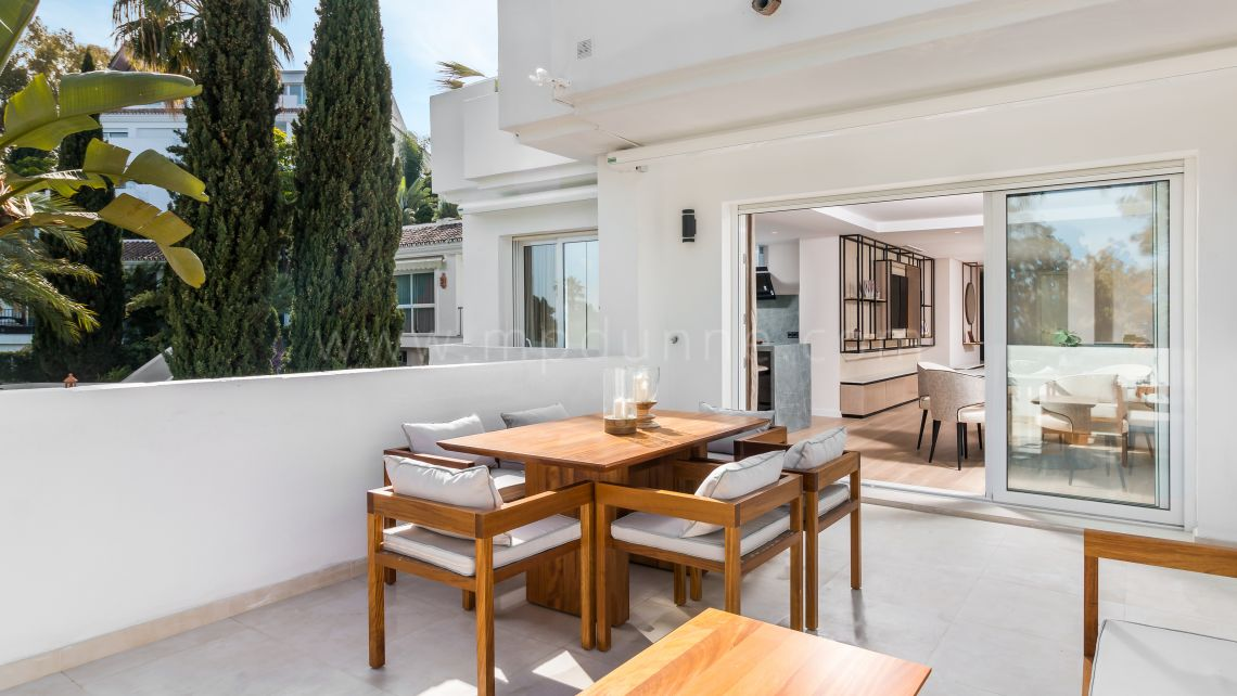 Mille d'Or à Marbella, Bel appartement moderne à Golden Mile Marbella