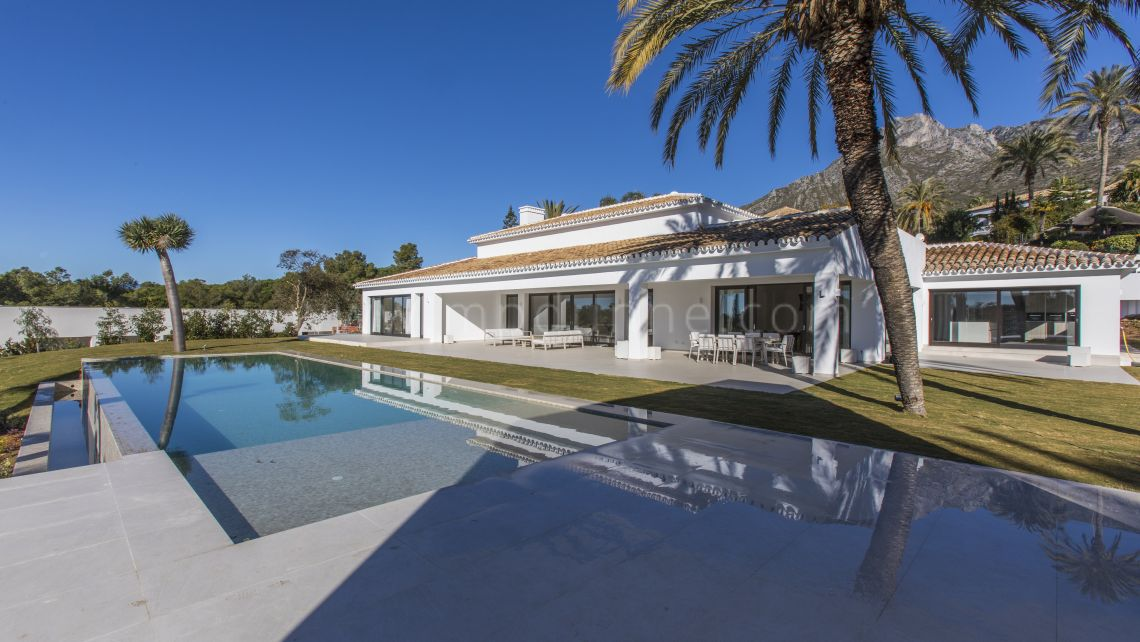 Marbella Golden Mile, Stunning family villa in Sierra Blanca