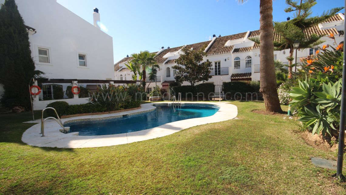 Marbella Golden Mile, Family Townhouse in Marbella Golden Mile
