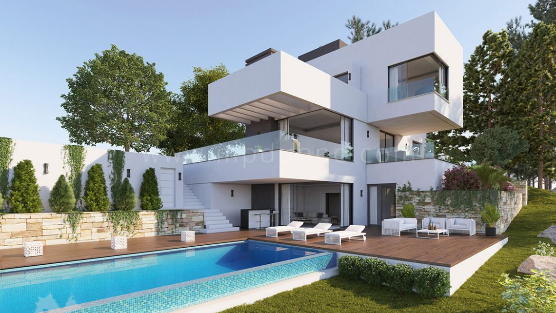 Benahavis, Beautiful contemporary villa in Monte Mayor, Benahavis