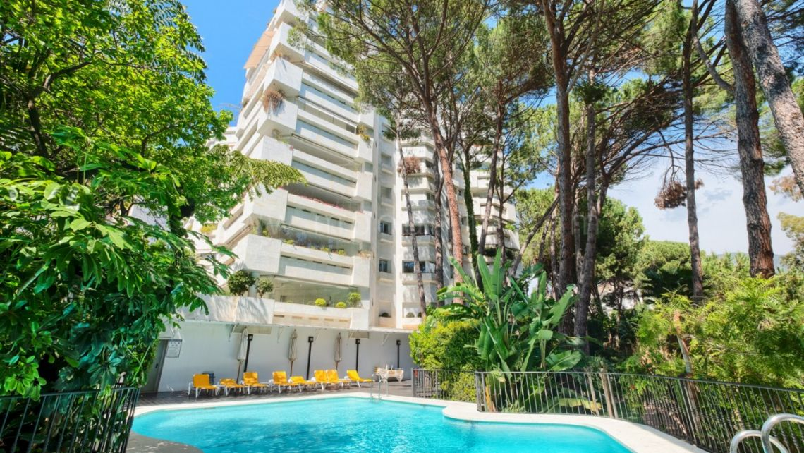 Marbella Golden Mile, Spacious apartment in the Golden Mile