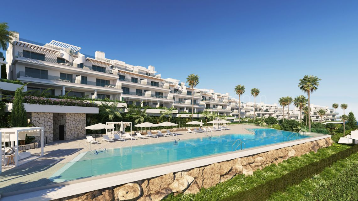 Estepona, Stylish off plan townhouse with seaviews in the New Golden Mile, Estepona