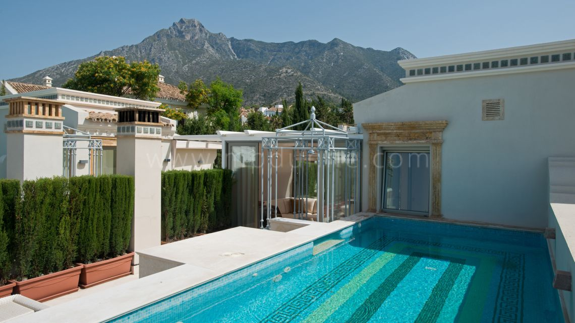 Marbella Golden Mile, Ultra Luxury Townhouse in Sierra Blanca del Mar
