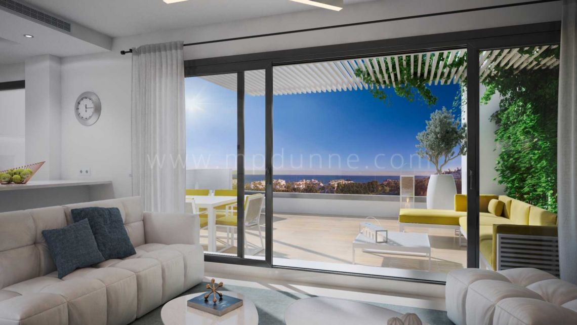 Casares, Stylish modern apartment in Casares Playa