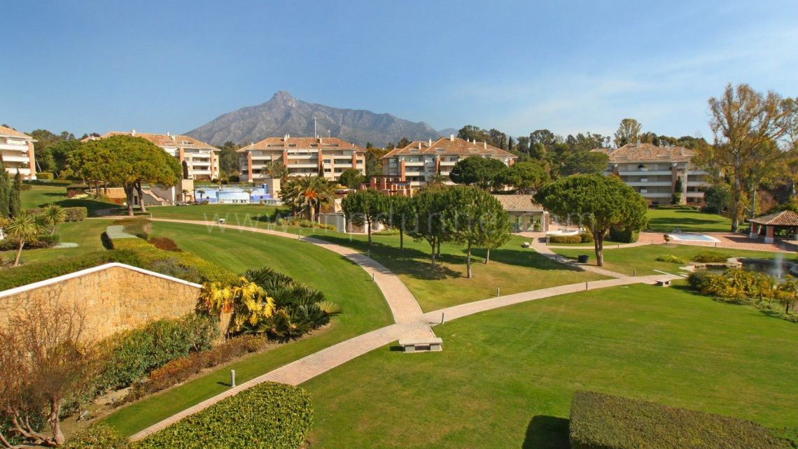 Marbella Golden Mile, Duplex Penthouse i La Trinidad som ligger på The Golden Mile, Marbella