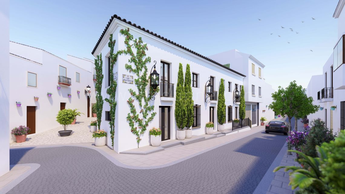 Estepona, Luxury townhouse in Estepona Center