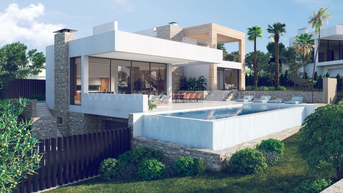 Nueva Andalucia, Spacious villa with contemporary style in Nueva Andalucia
