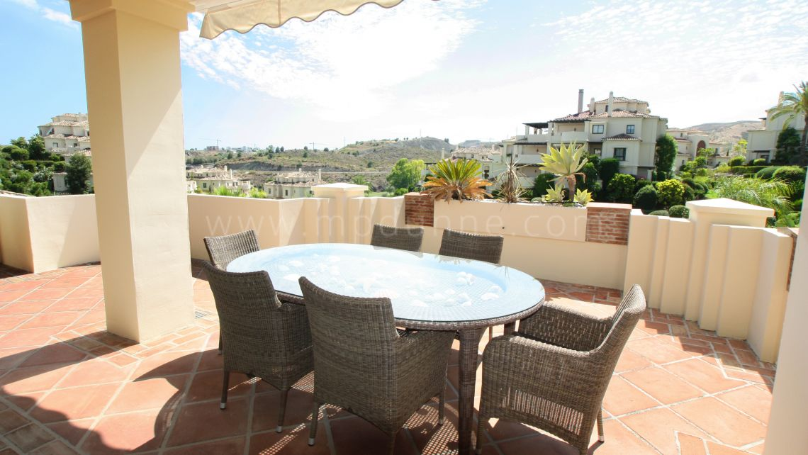 Benahavis, Grand appartement avec 3 chambres à Capanes del Golf