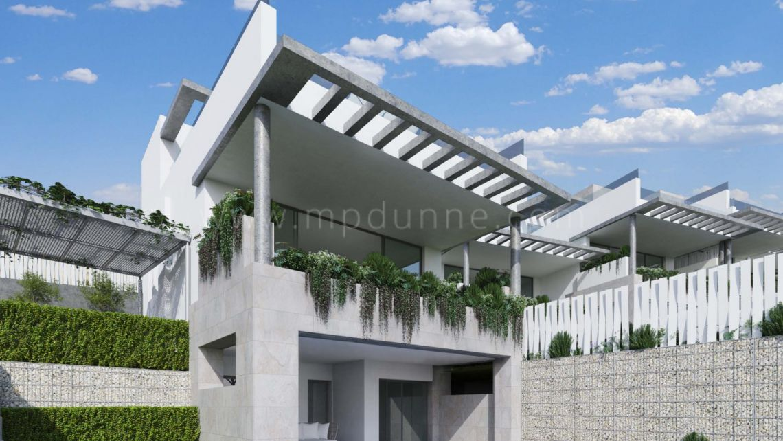 Marbella East, Off plan modern townhouses in Cabopino