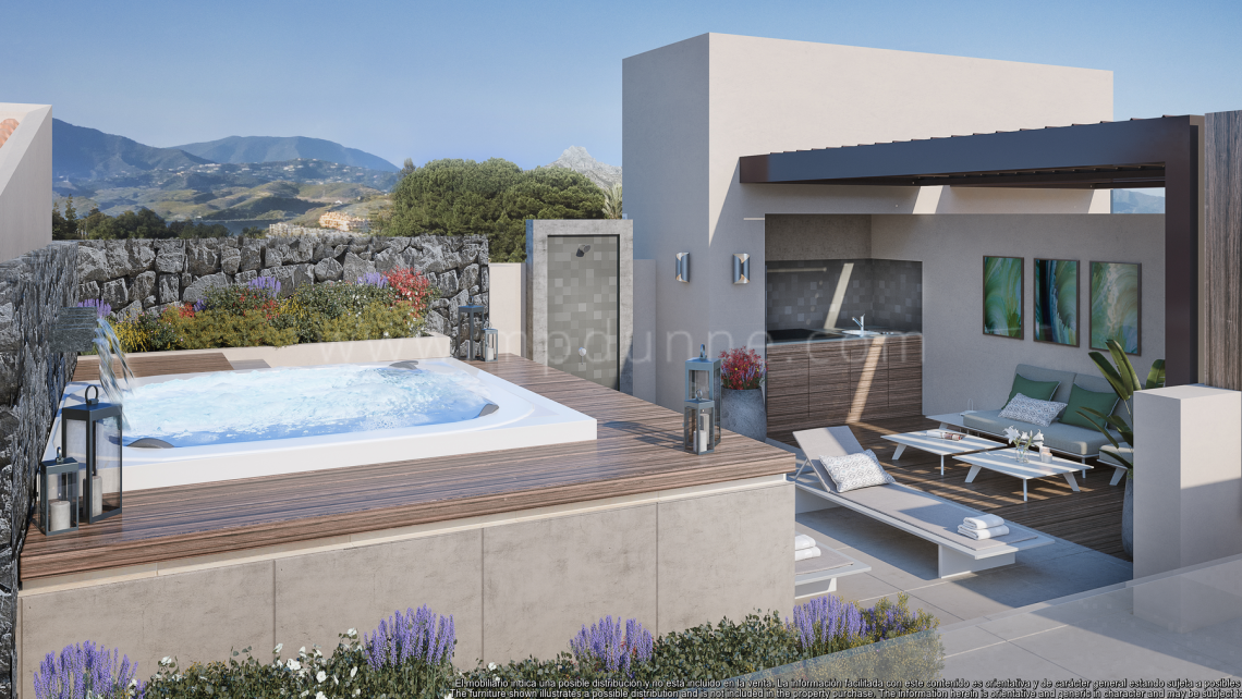 Benahavis, Brand new apartments in Real de La Quinta
