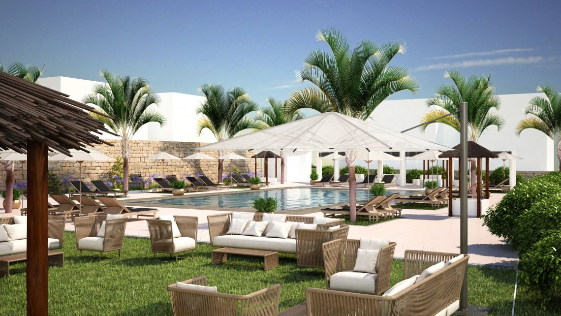 Marbella East, The Oakhill Private Estate, Marbella East, New Build 3 bed / 2 bathroom apartments