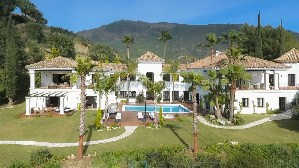 Benahavis, La Zagaleta, Benahavís, Stunning Villa with fantastic mountain views