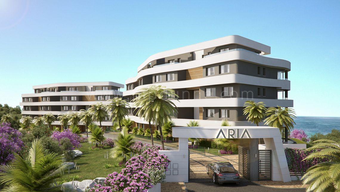 Mijas Costa, Aria, Mijas Costa, Luxury apartments and penthouses for sale off plan
