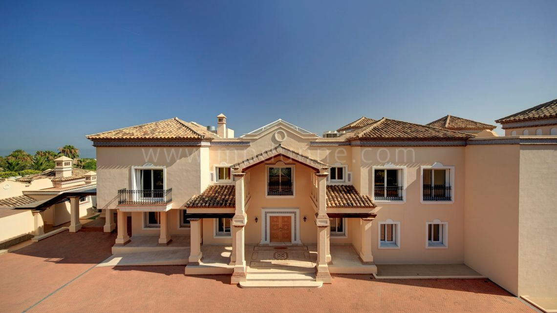 Marbella Golden Mile, Sierra Blanca, Stunning Palatial Mansion for sale
