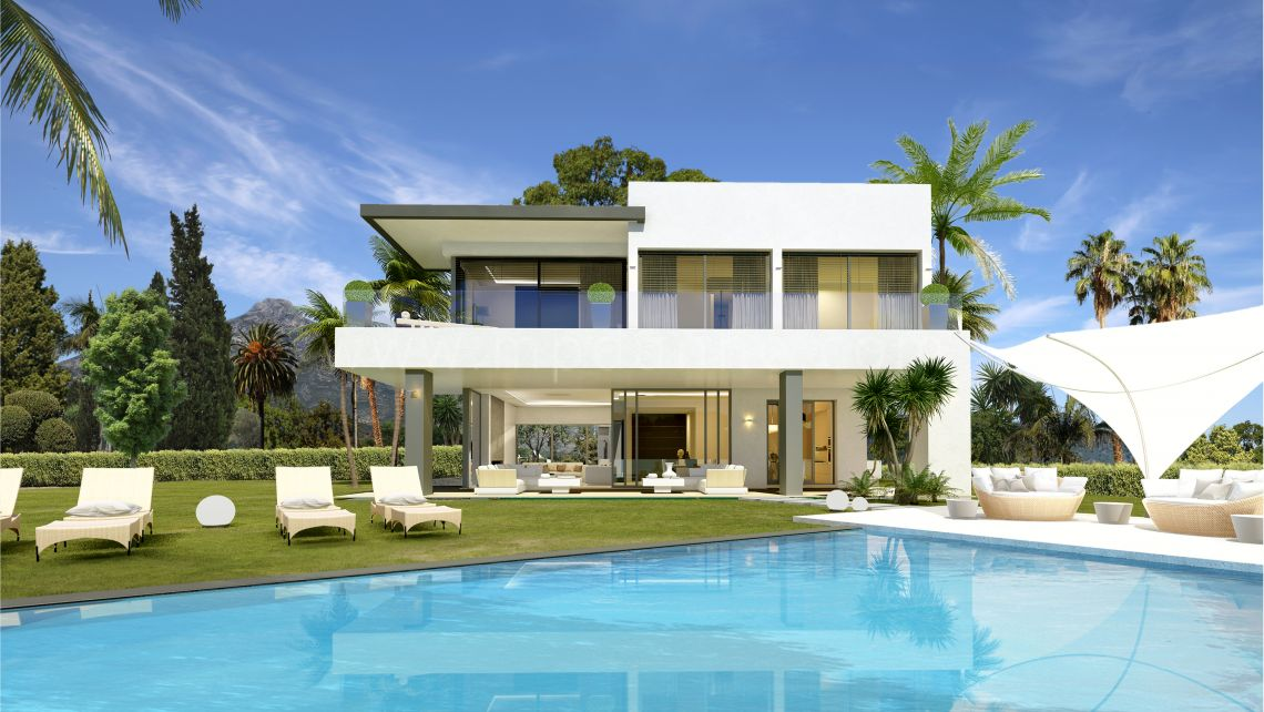 Marbella Golden Mile, Lomas del Marbella club Exclusive Modern Contemporary Villa