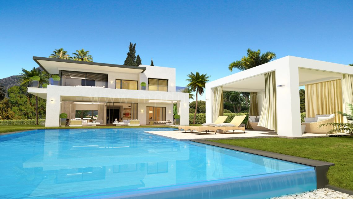 Marbella Golden Mile, Lomas del Marbella Club New Modern Contemporary Villas