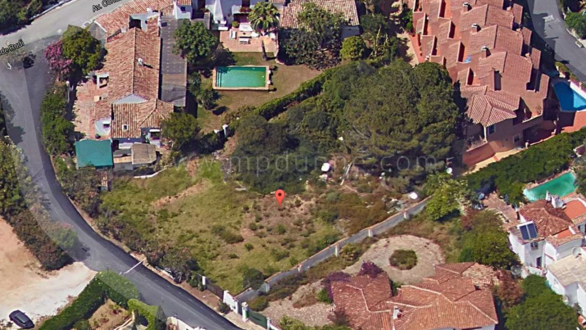 Marbella Golden Mile, La Virginia, plot for sale