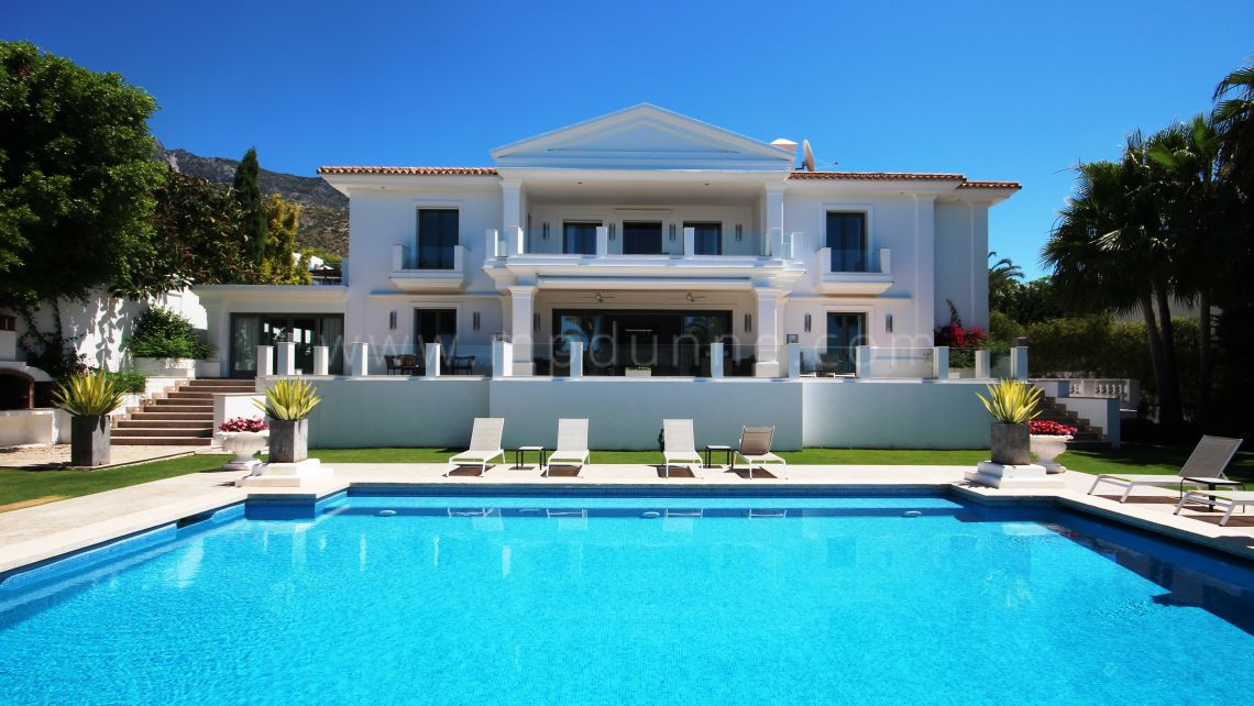Marbella Golden Mile, Perfect Family Home in Sierra Blanca estate Marbella Golden Mile