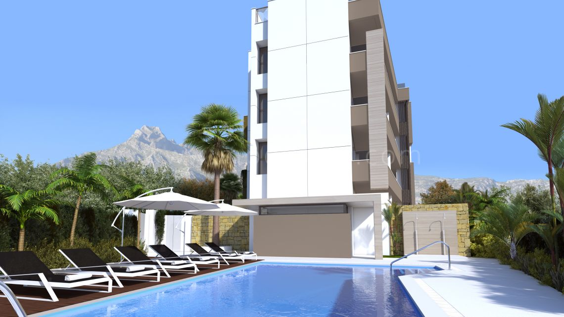 Marbella - Puerto Banus, Off plan 2 bedrooms modern apartment in Puerto Banus