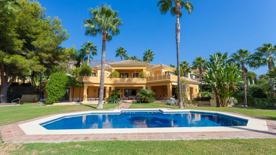 Marbella Golden Mile, Great Villa on the Golden Mile, Altos Reales