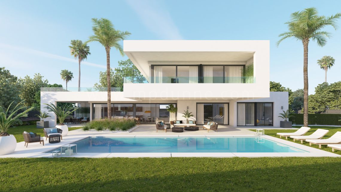 Nueva Andalucia, Off plan new modern contemporary style villa in Nueva Andalucia