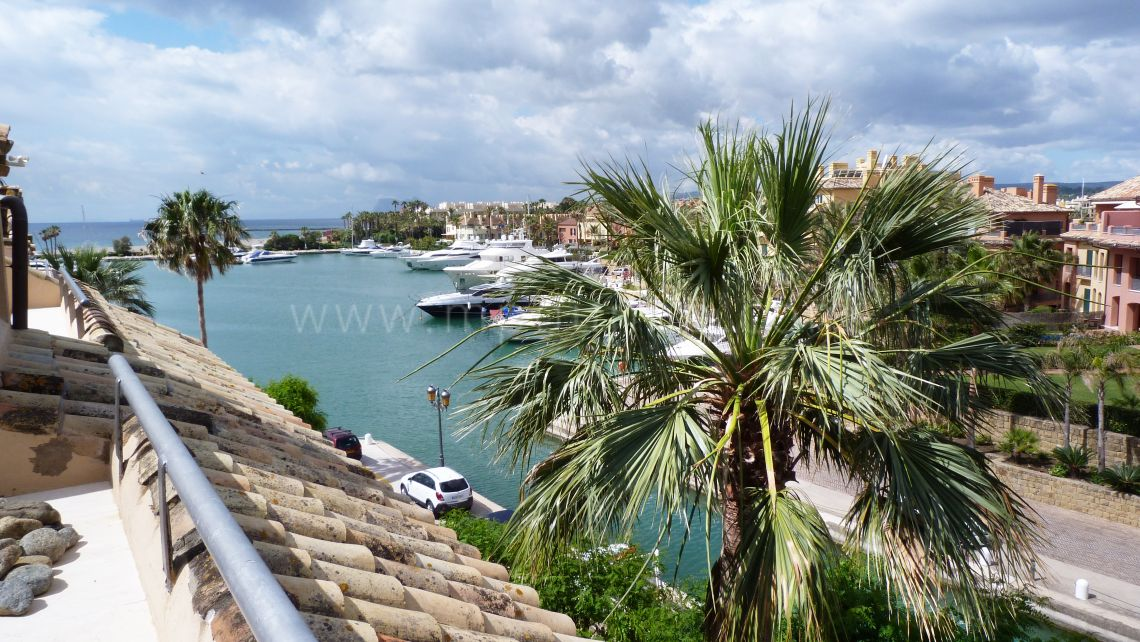 Sotogrande, Penthouse confortable dans le port de Sotogrande