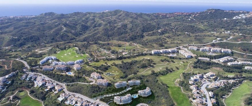 Mijas Costa, New build penthouse for sale in La Cala Golf Resort, Mijas