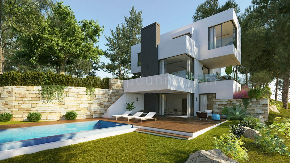 Benahavis, Modern villa in Monte Mayor, Benahavis