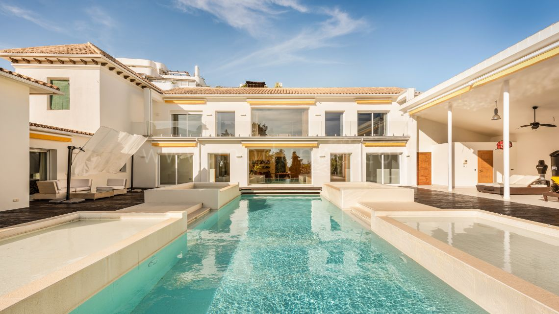 San Pedro de Alcantara, Luxury Family Villa Close to Guadalmina Club House