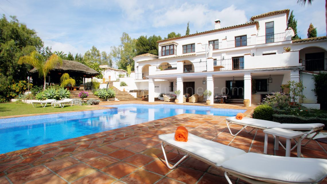 Marbella Golden Mile, Beautiful villa in Golden Mile