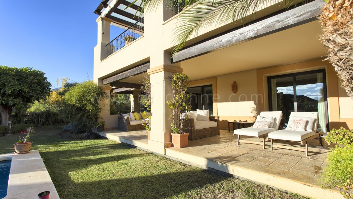 Nueva Andalucia, Beautiful ground floor apartment in Aloha Park, Nueva Andalucia