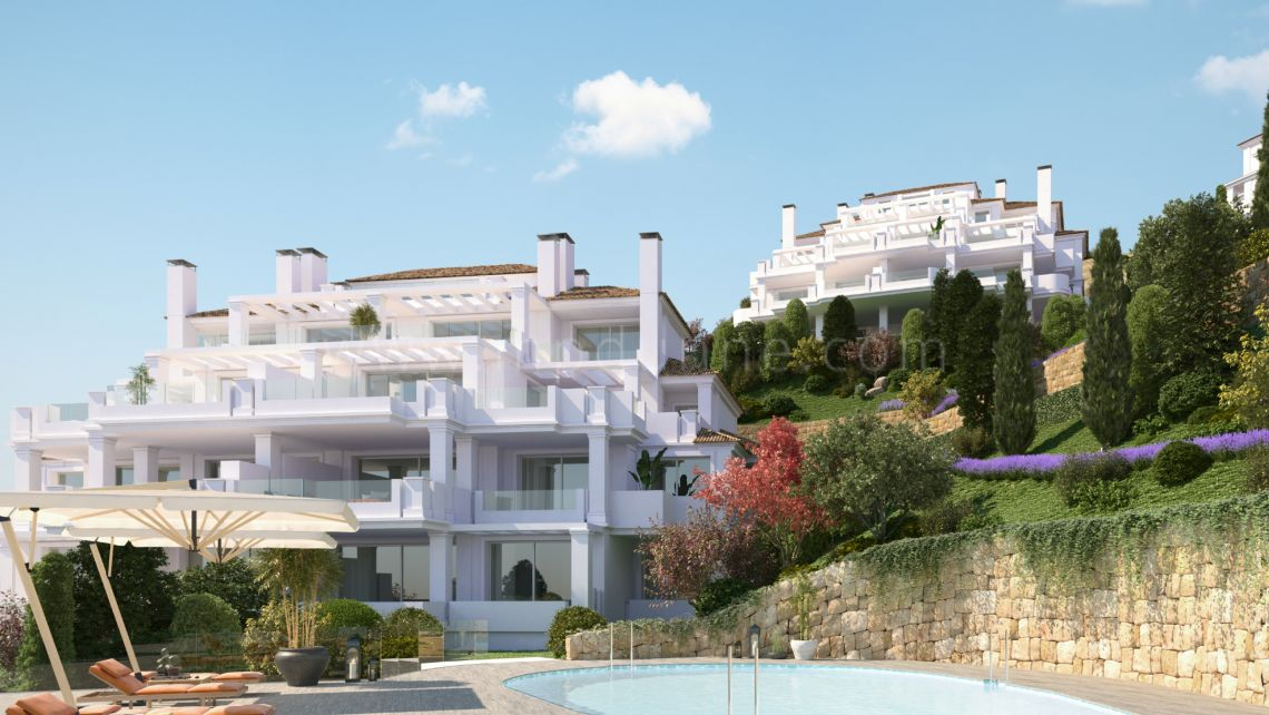 Nueva Andalucia, Exclusive 2 bedroom apartment with privileged views in Nueva Andalucia.