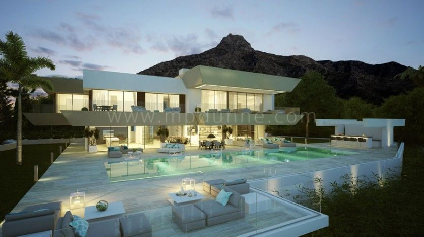 Marbella Golden Mile, Brand New Modern Contemporary Luxury Villa in Sierra Blanca