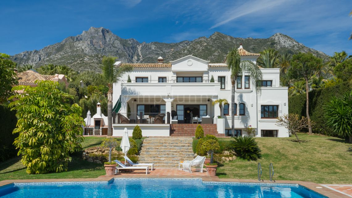 Marbella Golden Mile, Spectacular Villa for rent in Sierra Blanca