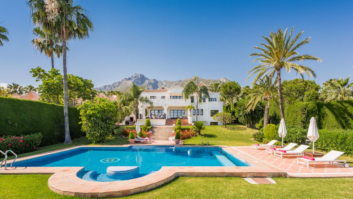 Marbella Golden Mile, Magnificent Villa in Sierra Blanca, Marbella Golden Mile