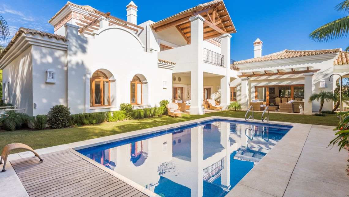 Villa zu vermieten in Beach Side Golden Mile - Marbella Goldene Meile Villa