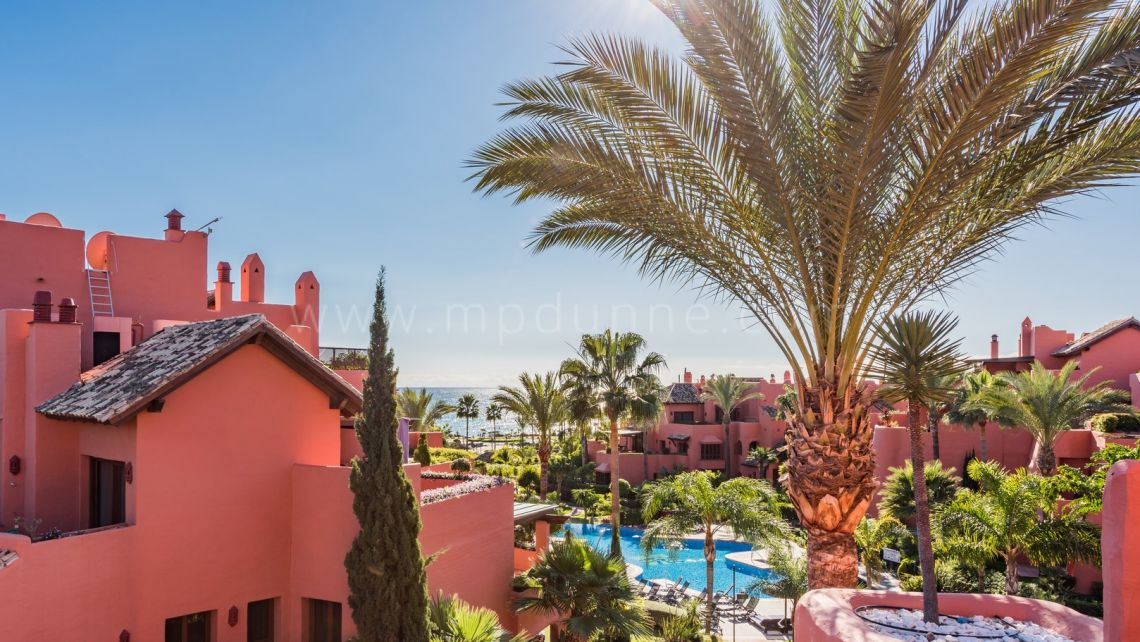 Estepona, Duplex Penthouse for Sale in Torre Bermeja