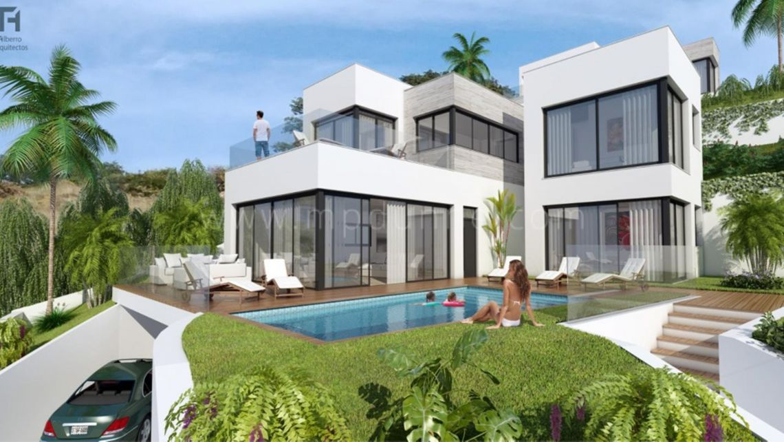 Mijas, Paraiso San Antonio, Mijas, Off Plan Luxury Villas for Sale