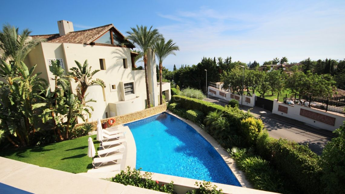 Marbella Golden Mile, 3-bedroom Apartment for Rent in Imara, Marbella Golden Mile