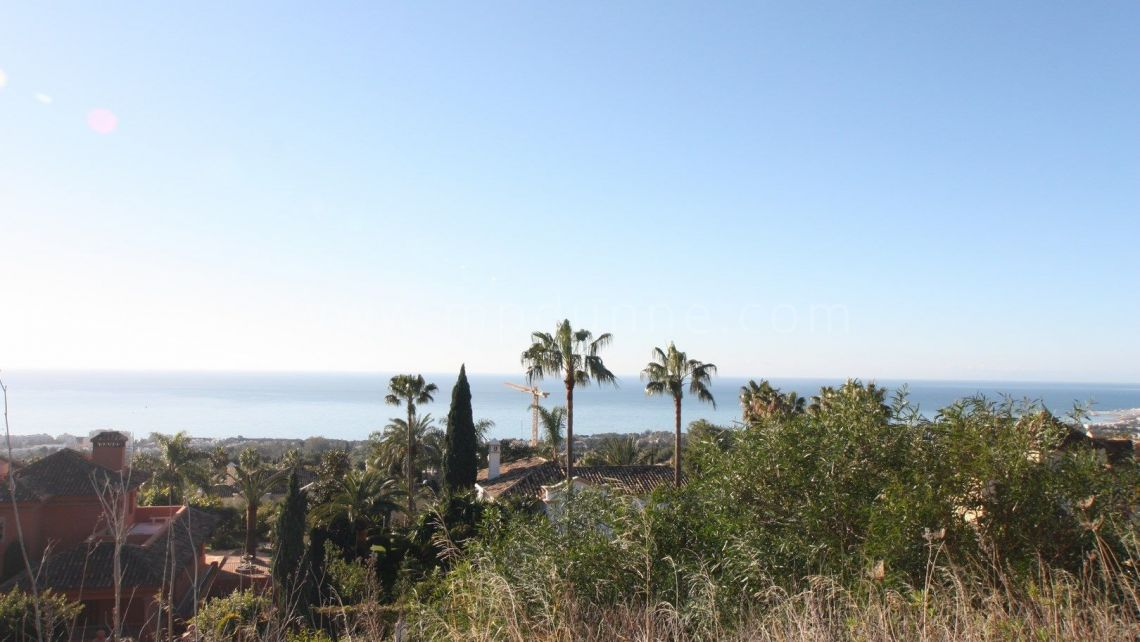 Marbella Golden Mile, Best Double plot in Sierra Blanca with Outstanding Sea Views