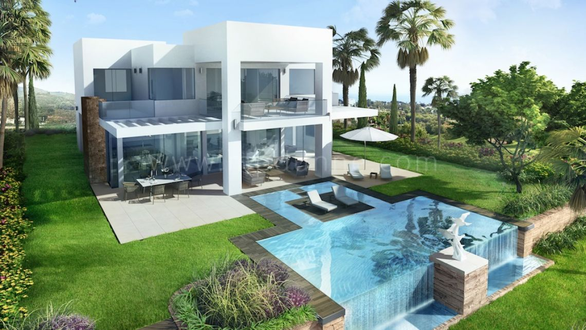 Marbella East, 5 bedroom Modern Villa for Sale Off-plan in Marbella East