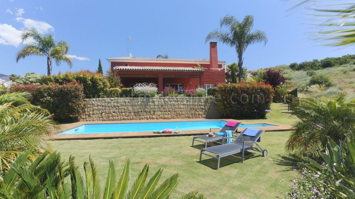 Benahavis, 5 bedroom front line golf Villa in Condes de Luque, Benahavis