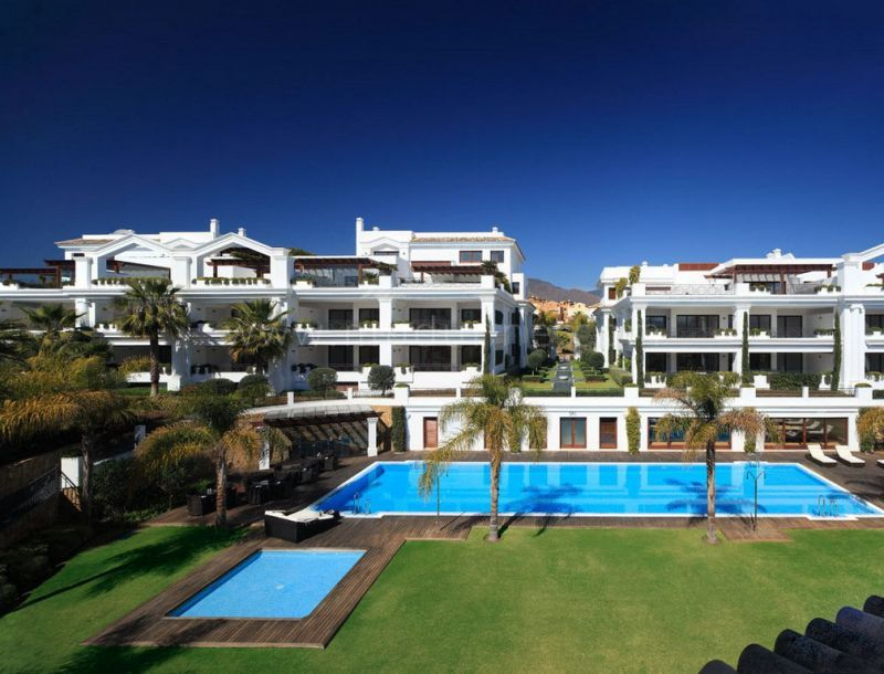 Estepona, Front line beach apartment for sale in the New Golden Mile of the Costa del Sol
