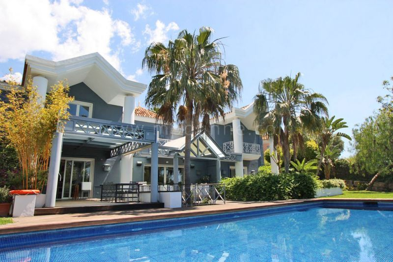 Marbella Golden Mile, Stunning private contemporary villa in Sierra Blanca, Marbella