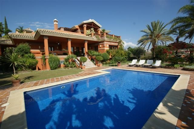 Villa zu vermieten in Los Flamingos Golf - Benahavis Villa