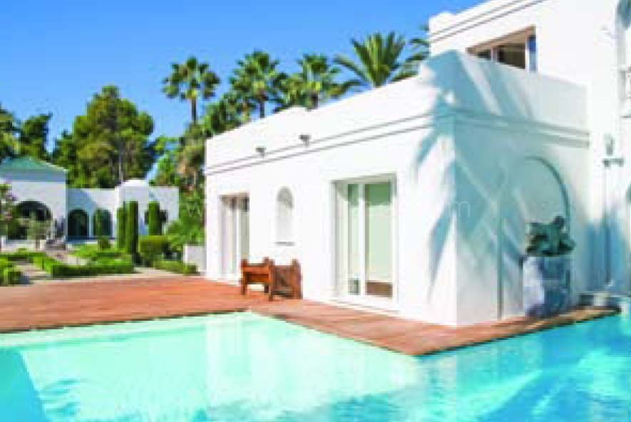San Pedro de Alcantara, Luxury villa for sale in Guadalmina Baja - Andalucian and Arabic style