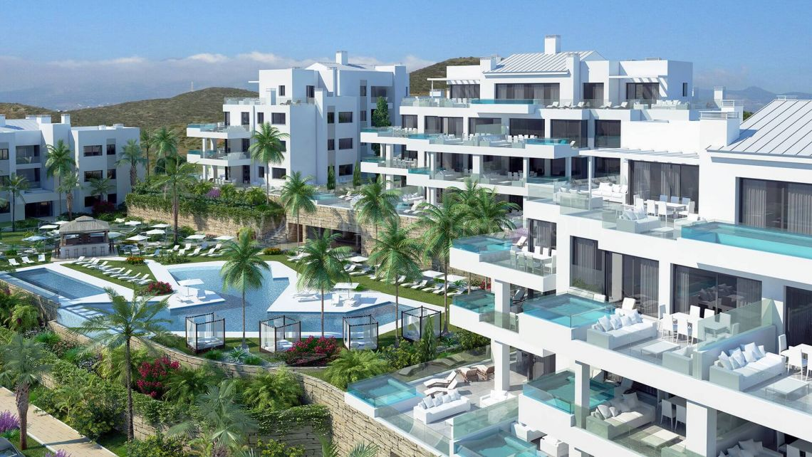 Santa Barbara Heights - Development in Cala de Mijas, Mijas Costa