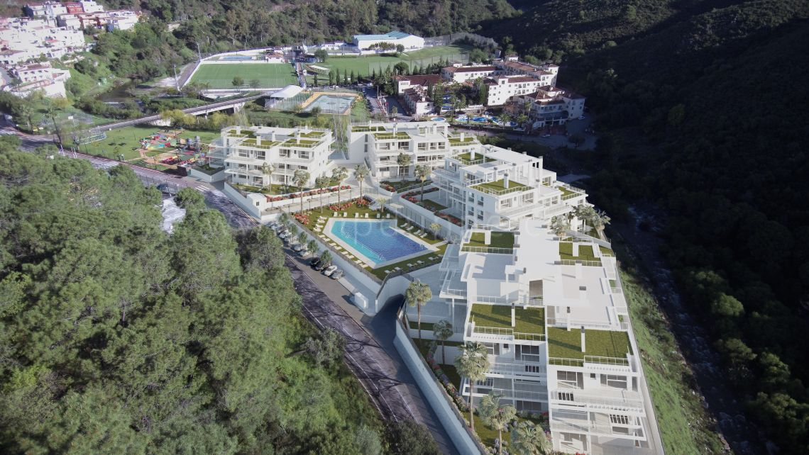 Riverside - Development in Benahavis Centro, Benahavis